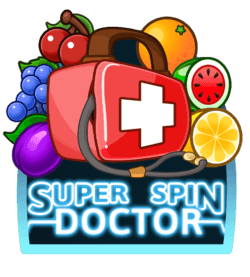 Super Spin Doctor online slots at Dr Slot Casino - iOS grid